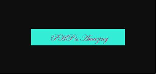 php-is-Amazing