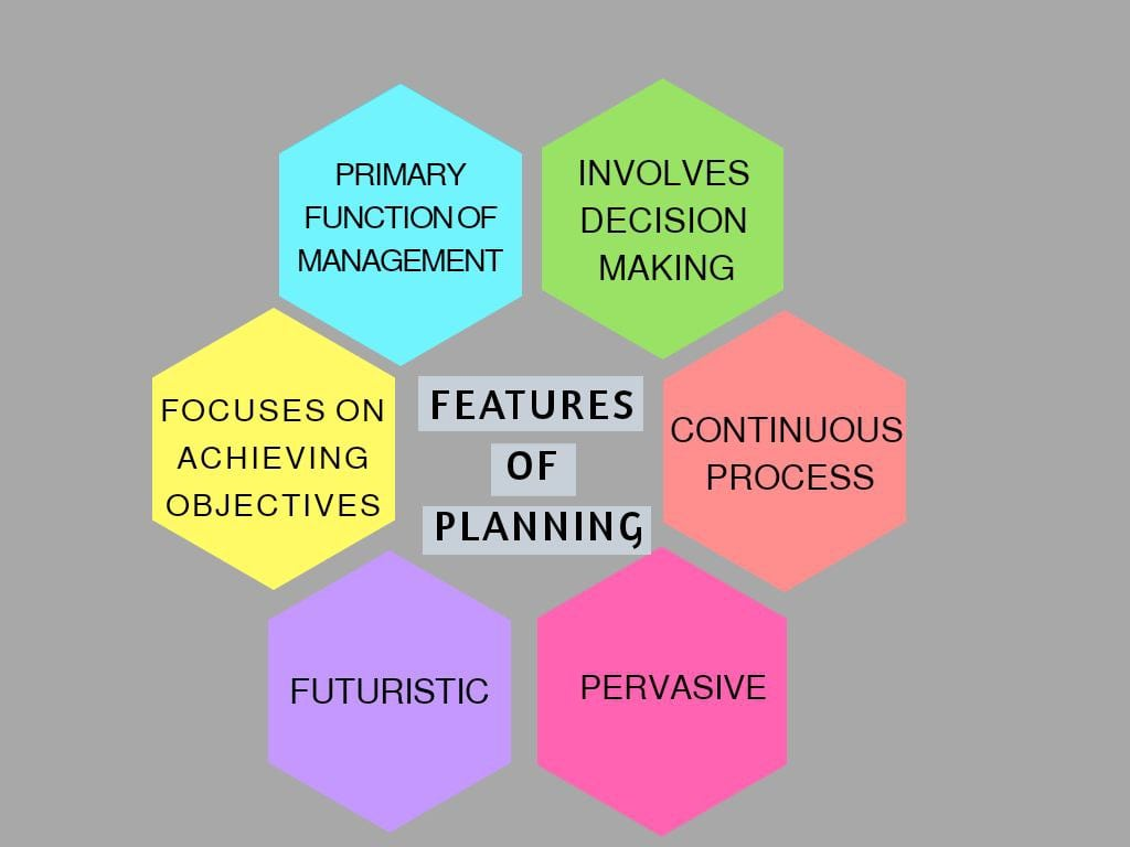 Fig: Features of Business Planning