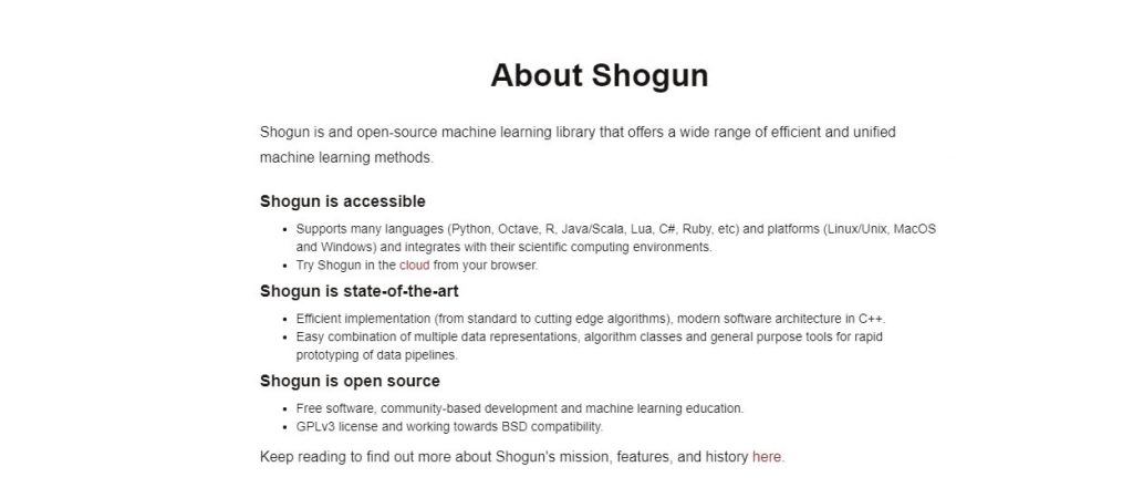 About Shogun