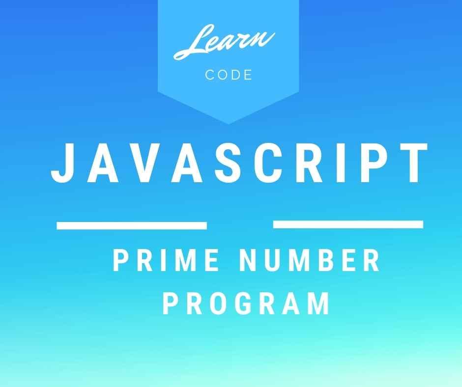 Prime number Program