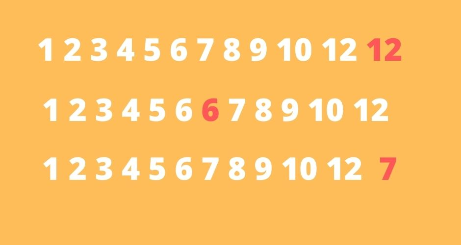 Duplicate Number in Java